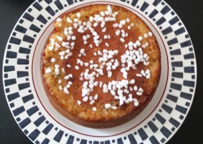 gâteau de pain perdu